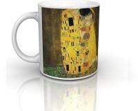 Seven Rays Gustav Klimt,The Kiss Mug (Multicolor, Pack Of 1)