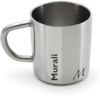 Hot Muggs Me Classic  - Murali Stainless Steel Mug (200 Ml)