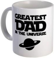 Giftsmate Universes Greatest Dad Mug (White, Pack Of 1)
