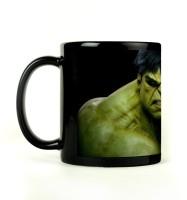 Shoprock Strong Hulk Mug (Black, Pack Of 1)