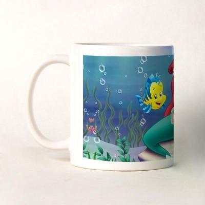 Bluegape Little Mermaid Mug Pink, Pack of 1