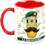 HomeSoGood Plates & Tableware HomeSoGood Soldier Minion In Despicable Me Ceramic Mug