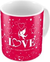 Indiangiftemporium Fancy Design Printed Cute Coffee S Pair 693 Ceramic Mug (300 Ml, Pack Of 2)