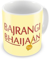 Little India Fancy Bajrangi Bhaijaan Printed Stylish Coffee  547 Ceramic Mug (300 Ml)