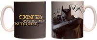 Posterboy Batman - One With The Night (Officially Licensed) Mug (Multicolor, Pack Of 1)