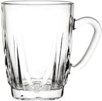 Blinkmax KTZB48 Glass Mug (237 Ml, Pack Of 6)