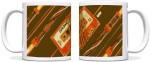 ShopMantra Plates & Tableware ShopMantra Music Cassette Black Ceramic Mug