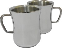 Marvel Damroo Stainless Steel Mug (200 Ml, Pack Of 2)