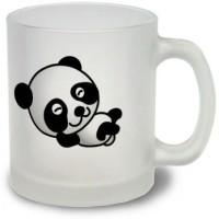 StyBuzz Sleep Solves Everything Frosted Mug Glass Mug (300 Ml)