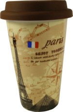 Gifts And Style Plates & Tableware Gifts And Style Paris Coffee Ceramic Mug