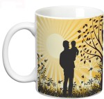 Prithish Measures Prithish Father & Son Ceramic Mug