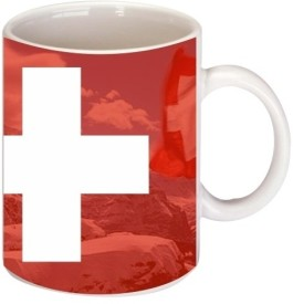 Printland Switzerland Coffee Ceramic Mug
