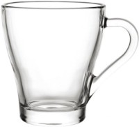 Blinkmax KTZB21 Glass Mug (270 Ml, Pack Of 6)