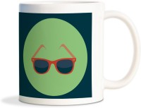 Mug AMY Sunglasses Cool Coffee Mug (Brown)