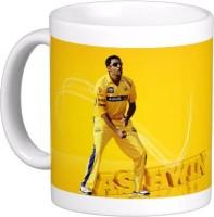 Exoctic Silver Chennai Super King IPL Series XXX 036 Ceramic Mug (300 Ml)
