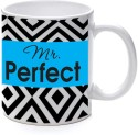 Printland Mr. Perfect Flare Mug - Multicolor, Pack Of 1