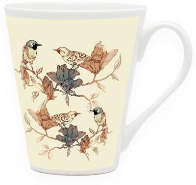 HomeSoGood Territorial Chit Chat Ceramic Mug