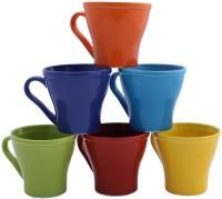 Aarzool Kulhad Cups Ceramic Mug (190 Ml, Pack Of 6)
