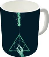 The Fappy Store Expecto Patronum Harry Potter Ceramic Mug (300 Ml)