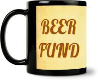 ShopMantra Beer Cheers Ceramic Mug (300 Ml)