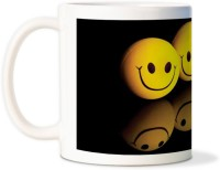 AMY Funny Smiley Emotionscoffee Ceramic Mug