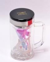 Shrisay Ventures Glass  Glass Mug (250 Ml)