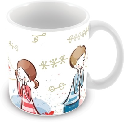 Prinzox where is my valentine, I am here my love Ceramic Mug