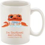 Oh Fish Cups & Mugs Oh Fish CANCER GRAPHIC PRINTED COFFEE Ceramic Mug