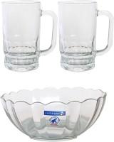Luminarc Beer S Serving Set Glass Mug (350 Ml, Pack Of 3)