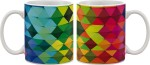 Artifa Plates & Tableware Artifa Abstract Mosaic Design Porcelain, Ceramic Mug