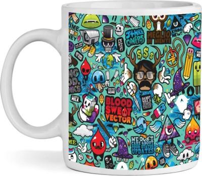 BS Enterprise Plates & Tableware BS Enterprise Art Attack Ceramic Mug