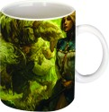 Printland Walking Lady Mug - Multicolor, Pack Of 1