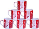 Pearl Plates & Tableware Pearl RedH Bone China Mug