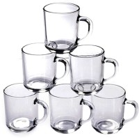 Toygully Glass Coffee  Set - 6 Glass Mug (60 Ml, Pack Of 6)