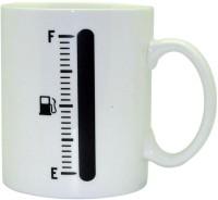 Just For Decor Tank Up Heat Color Changing Ceramic Mug (300 Ml)