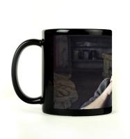 Shoprock Leonardo DiCaprio Mug (Black, Pack Of 1)