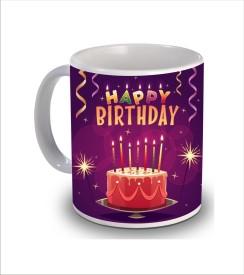 Psk Happy Birthday Cake b19 Ceramic Mug