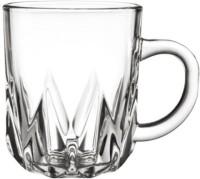 Blinkmax KTZB04 Glass Mug (235 Ml, Pack Of 6)