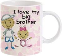 Lolprint Gift For Raksha Bandhan Rakhi Gifts For Brother (Design 18) Ceramic Mug (325 Ml)