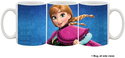 Furnish Fantasy Plates & Tableware Furnish Fantasy Frozen Anna Ceramic Mug