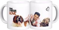 Exoctic Silver Salman Khan Quotes X013 Ceramic Mug (300 Ml)