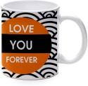 Printland Forever Love Mug - Multicolor, Pack Of 1