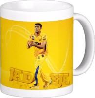 Exoctic Silver Chennai Super King IPL Series XXX 038 Ceramic Mug (300 Ml)