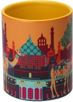 The Elephant Company  Indian Caravan Serai Ceramic Mug (180 Ml)
