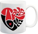 Awwsme Plates & Tableware Awwsme True Love Bone China Mug