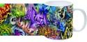 Printland Floral Print Mug - Multicolor, Pack Of 1