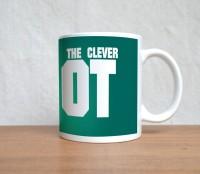 StyBuzz The Clever Idiot Ceramic Mug (300 Ml)