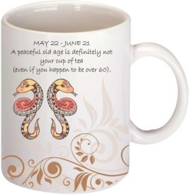 Printland Gemini Coffee Ceramic Mug