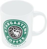 PosterGuy Targaryen Coffee | Fire & Blood | Starbucks Parody TV Series Ceramic Mug (280 Ml)