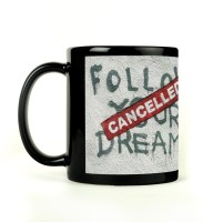 Shoperite Banksy Follow Your Dreams Ceramic Mug (300 Ml)